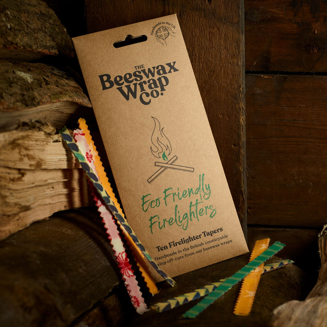 Beeswax Eco Friendly Firelighters