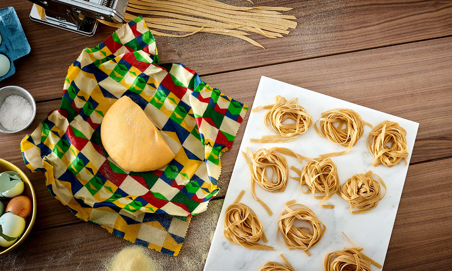 Clever Uses For Beeswax Wraps: Rolling Pastry & Dough