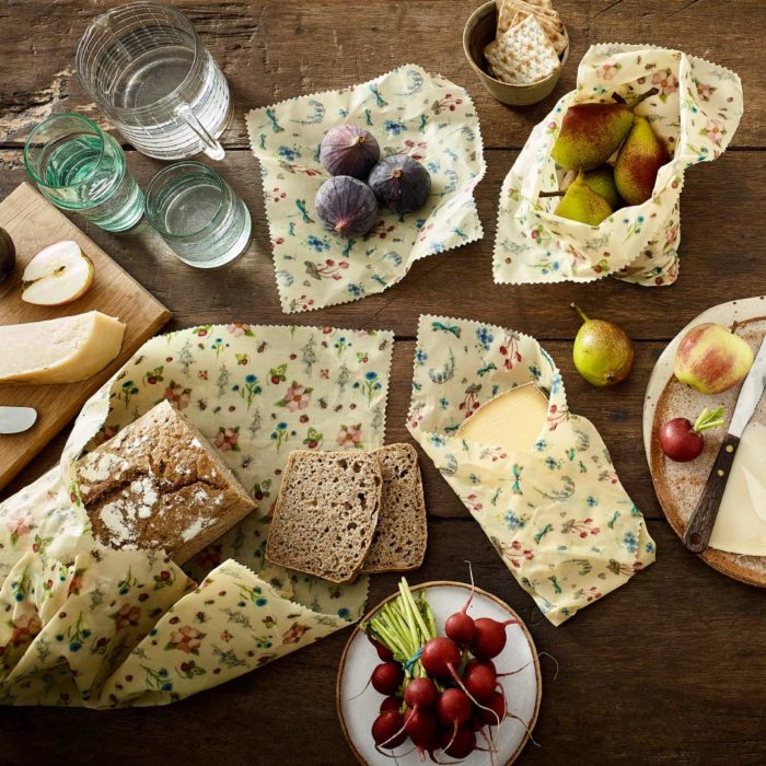 National Trust Beeswax Wraps Summer Blooms Lifestyle